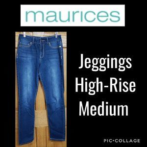Maurices High-Rise Jeggings Medium